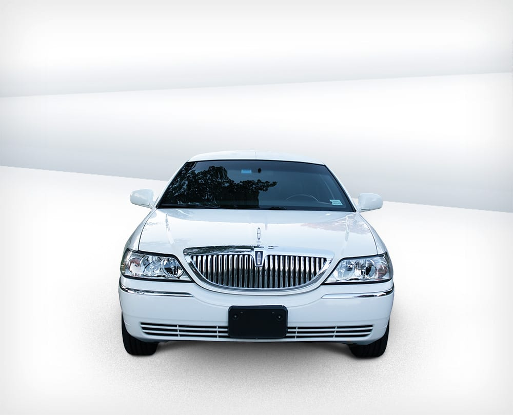 White Lincoln 12 Passenger Super Stretch Atlantic Limousine